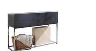 Ottmar G0012325 Konsolentisch aus Holz mit Schubladen Grau 310x165 - Ottmar G0012325 Konsolentisch aus Holz, mit Schubladen, Grau